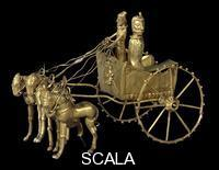 ******** Gold model chariot from the Oxus treasure