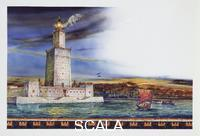 ******** Egypt - Alexandria - Lighthouse - Drawing