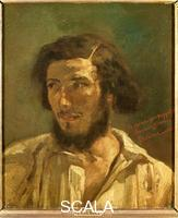 Courbet, Gustave (1819-1877) Self-Portrait