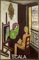 Matisse, Henri (1869-1954) The Painter and His Model, 1916-17