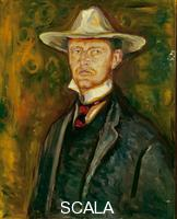 Munch, Edvard (1863-1944) Self-Portrait with Hat