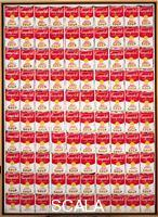 Warhol, Andy (1928-1987) 100 Cans. 1962.