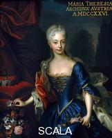 ******** Portrait of the the young Archduchess of Austria, Maria Teresa (1717-1780), 1726