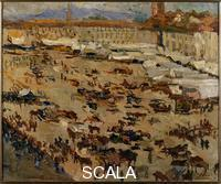 Bucci, Anselmo (1887-1955) Monza on St. John's day