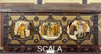 Florentine School Chest with Scenes from a Story by Boccaccio