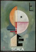 Kandinsky, Wassily (1866-1944) Hig up, 1929, Huile sur papier, 70 x 49 cm, Collection Peggy Guggenheim, Venise