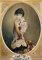 Kaulbach, Friedrich August (1850-1920) Portrait of Eleonora Duse