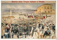 ******** Landing of Italian Troops at Trieste