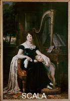 ******** Maria Cristina Trivulzio with Her Small Son Luigi