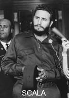 ******** Fidel Castro, Cuban revolutionary leader, c1956-1965.