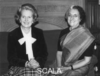 ******** Margaret Thatcher and Indira Gandhi, London, 14th November 1978.