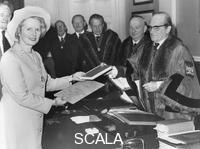 ******** Margaret Thatcher receiving the Fredom of the Poulter's Company, 26th January 1976.