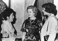 ******** Her Imperial Highness Chichibu talking with Margaret Thatcher and her daughter, Tokyo.
