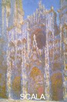 Monet, Claude (1840-1926) Rouen Cathedral, Facade