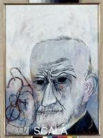 Shahn, Ben (1898-1969) Portrait of Freud, 1956
