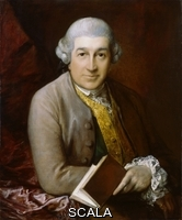 Gainsborough, Thomas (1727-1788) David Garrick. 1770