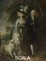 Gainsborough, Thomas (1727-1788) Mr and Mrs William Hallett ('The Morning Walk'), 1785