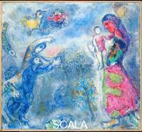 Chagall, Marc (1887-1985) The Homage, 1972