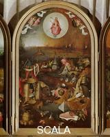 Bosch, Hieronymus (c. 1450-1516) Triptych - (central panel with the Last Judgment)
