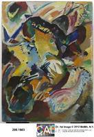 Kandinsky, Wassily (1866-1944) Panel for Edwin R. Campbell No. 2, 1914