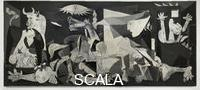 Picasso, Pablo (1881-1973) Guernica, 1937, Huile sur toile, 3,51 x 7,82 m, Musee Reina Sofia, Madrid