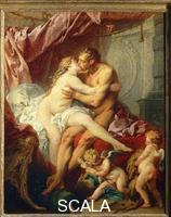 Boucher, Francois (1703-1770) Hercules and Omphale