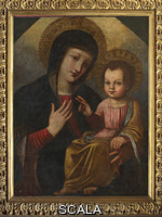 ******** Virgin and Child by unknown artist of the 17th century
