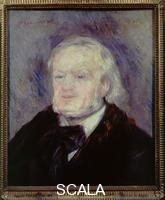 Renoir, Pierre Auguste (1841-1919) Portrait of Richard Wagner