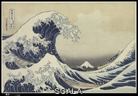 Hokusai, Katsushika (1760-1849) The Great Wave at Kanagawa (from a Series of Thirty-six Views of Mount Fuji), Edo period (1615-1868), c. 1830-32. Publisher: Eijudo
