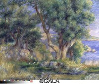Renoir, Pierre Auguste (1841-1919) Landscape on the Coast, near Menton