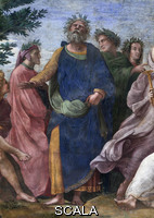 Raphael (1483-1520) Parnassus - detail (group with Homer)