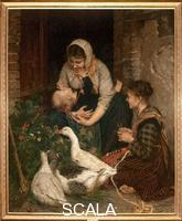 Cannicci, Niccolo' (1846-1906) Joys of Motherhood