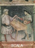 ******** Sign of Aries - detail (fishmonger)