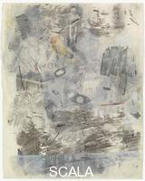 Rauschenberg, Robert (1925-2008) Canto I: The Dark Wood of Error, from the series 'Thirty-Four Illustrations for Dante's Inferno, (1958)