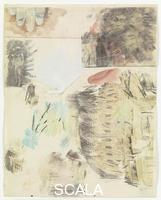 Rauschenberg, Robert (1925-2008) Canto IX: Circle Six, The Heretics , from the series 'Thirty-Four Illustrations for Dante's Inferno, (1959-60)