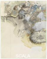 Rauschenberg, Robert (1925-2008) Canto XI: Circle Six, The Heretics , from the series 'Thirty-Four Illustrations for Dante's Inferno, (1959-60)