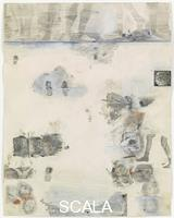 Rauschenberg, Robert (1925-2008) Canto XXXII: Circle Nine, Cocytus, Compound Fraud: Round 1, Caina, Treacherous to Kin; Round 2, Antenora, Treacherous to Country, from the series 'Thirty-Four Illustrations for Dante's Inferno, (1959-60)