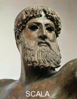 ******** Zeus or Poseidon from Artemision Cape - detail (head)
