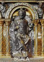******** Sarcophagus of Charlemagne, detail: Henry IV