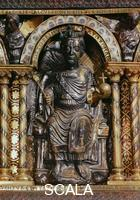 ******** Sarcophagus of Charlemagne, detail: Emperor Otto I