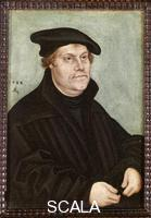 Cranach, Lucas the Elder (1472-1553) Portrait of Martin Luther