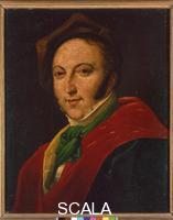 ******** Portrait of Gioacchino Rossini Wearing a Hat