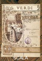 ******** Cover of the score of Verdi's 'La Traviata'