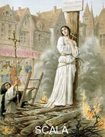 ******** Joan of Arc (c1412-1431), Maid of Orleans, French patriot and martyr, 19th cent.