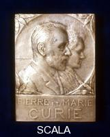 ******** Pierre and Marie Curie, French physicists.