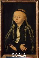 Cranach, Lucas the Elder (1472-1553) Presumed Portrait of Magdalen Luther, Daughter of Martin Luther