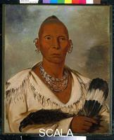 Catlin, George (1796-1872) Black Hawk, Prominent Sauk Chief, 1832