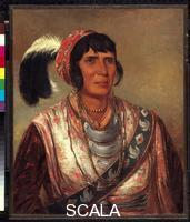 Catlin, George (1796-1872) Osceola (The Black Drink), a warrior of great distinction (Seminole), 1838