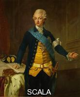 Pasch, Lorenz the Younger (1733-1805) Gustav III, King of Sweden (1746-1792)