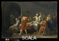 David, Jacques Louis (1748-1825) The Death of Socrates, 1787